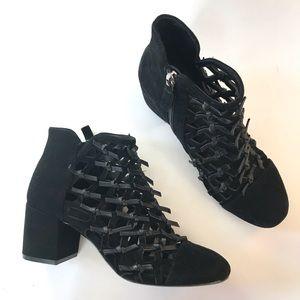 Cecelia New York Nessa Cage Bootie ankle boot 6 B